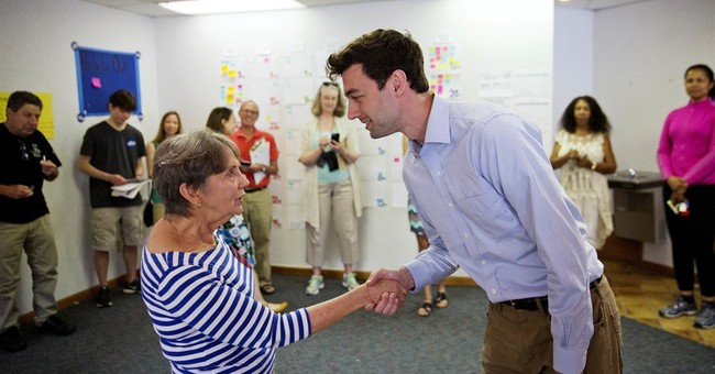 Ossoff backers draw strength from health care, Comey actions
