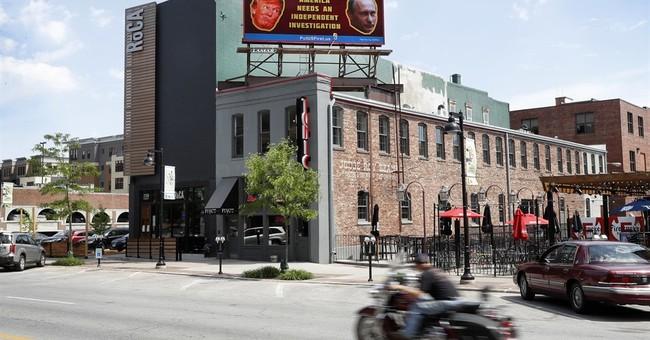 Billboard urges Iowa Senator to allow Trump-Russia probe