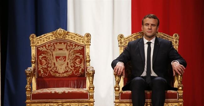 French president Macron set to meet EU leader Tusk