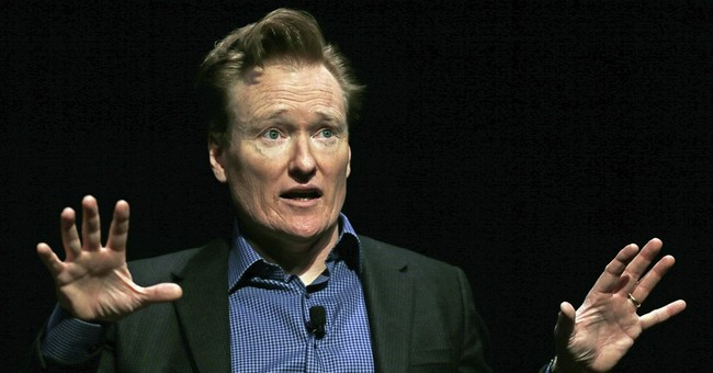 Conan jokes may have killed, but he stands accused of theft