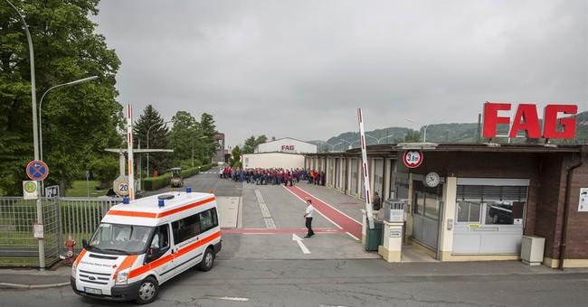 Explosion hits Schaeffler factory in Bavaria, 13 injured