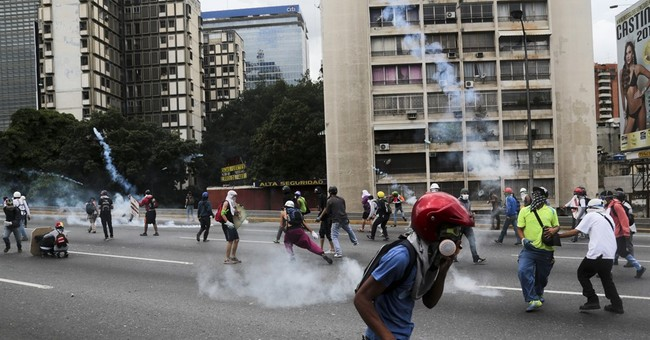 EU urges end to Venezuela violence against protesters