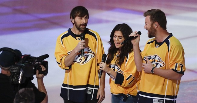 Upstaged: Predators anthem singer replaced by A-list artists