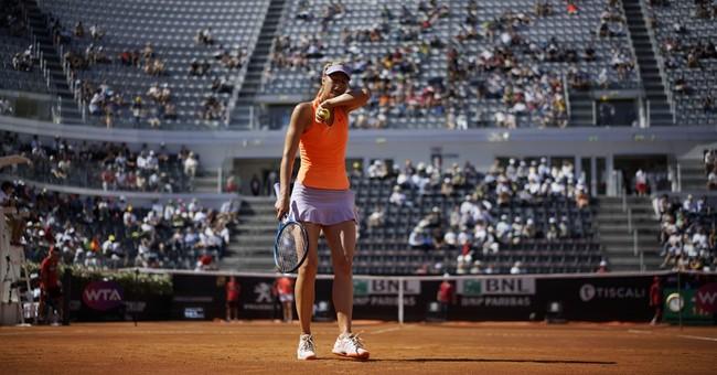 Sharapova's popularity doesn't earn a French Open wild card