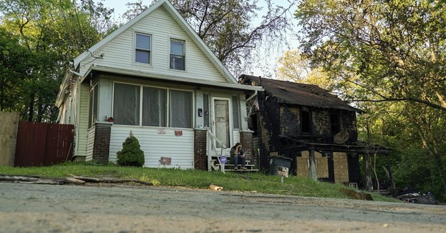 Estranged husband of Ohio house fire victim in custody