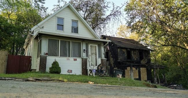 Estranged husband of Ohio house fire victim in custody