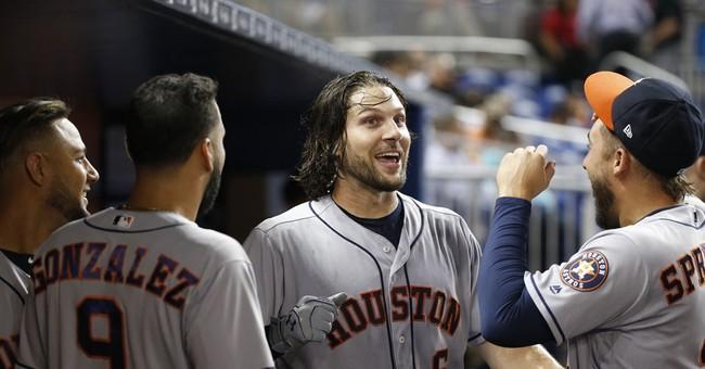 Dallas Keuchel earns 7th win as Astros beat Marlins 12-2