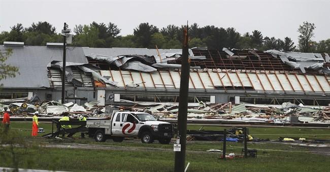 The Latest: Oklahoman says he was lucky when tornado struck