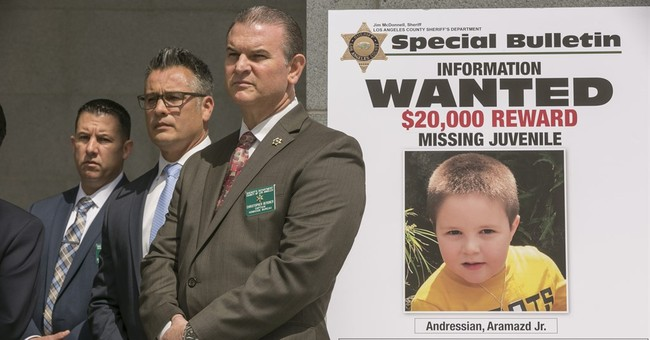 Authorities search park where missing boy's father was found