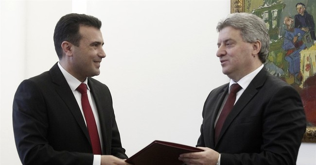 Macedonia opposition leader given mandate to form government