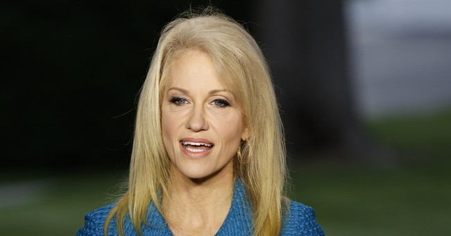 Conway disputes claim she's in it 'for the money'