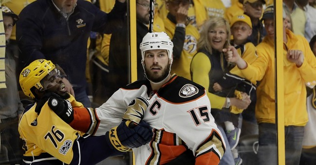Preds rally, beat Ducks 2-1 to take 2-1 Western finals lead