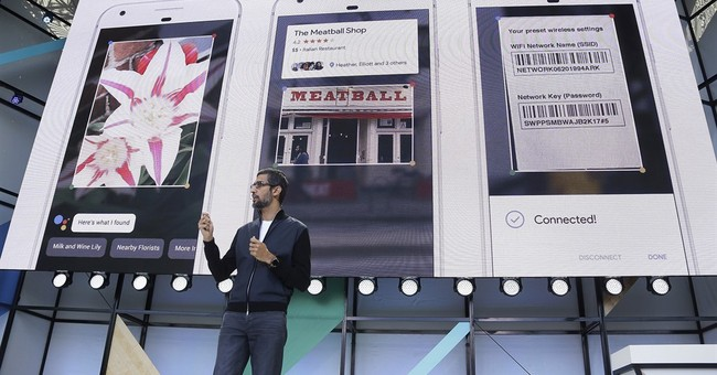 The Latest: Familiarity in Google's newly unveiled services