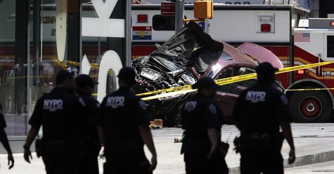 Car mows down Times Square pedestrians for blocks, killing 1