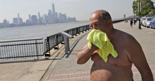 Early heat wave breaking records in Northeast US cities
