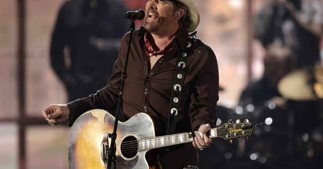 Trump visit draws country singer Toby Keith to Saudi Arabia