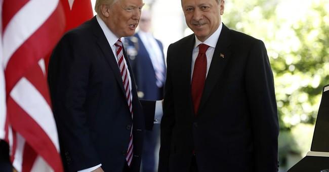 The Latest: Turkish melee in Washington left injuries, shock