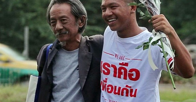 Arrested Thai activist getting S. Korean human rights award