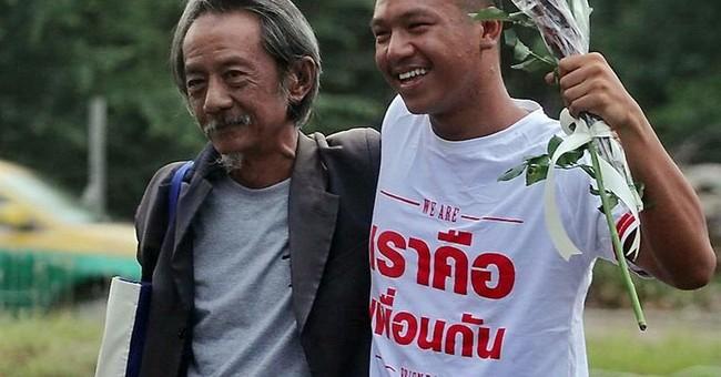 Arrested Thai activist getting S. Korean human rights award