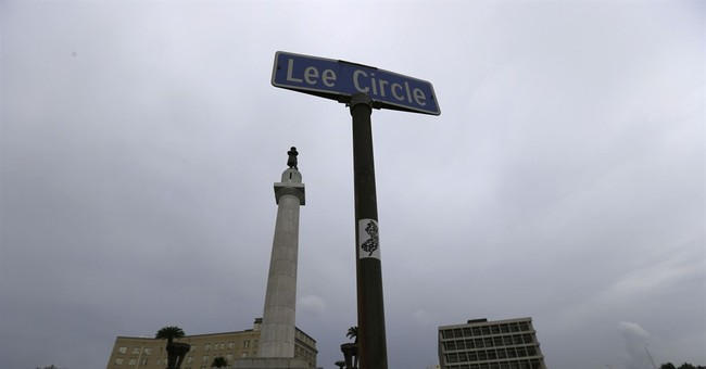 Statue of General Lee coming down in New Orleans on Friday
