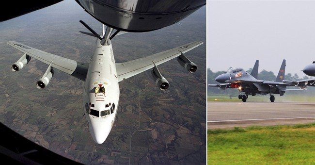 US protests intercept by Chinese jets; China blames US