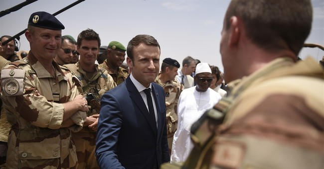 Macron calls for countries' support in fighting extremism