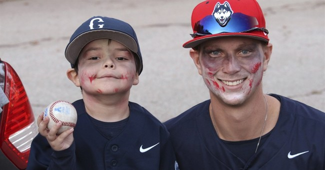 UConn pitcher, 6-year-old linked by cancer fights