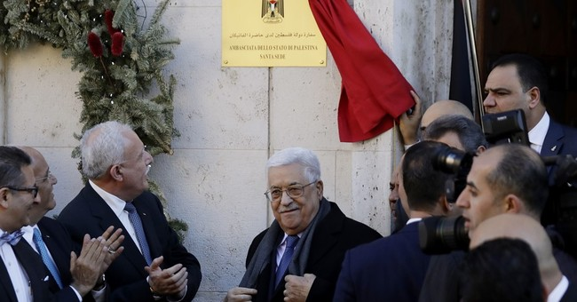 Pope meets Palestinian leader; Vatican calls Jerusalem holy