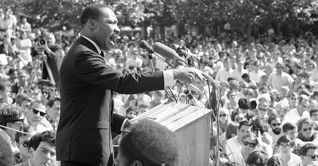 King's shift from dreamer to radical resonates for activists