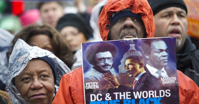 Marchers brave cold, rain for MLK march in DC