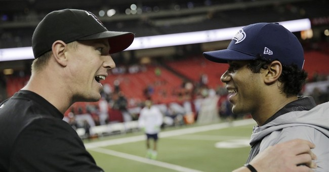 Falcons and Patriots favorites as NFL playoffs resume