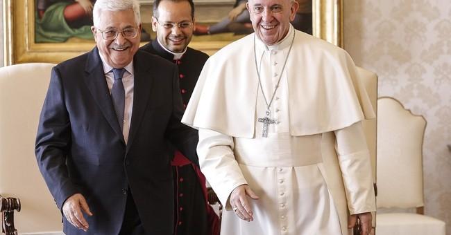 Pope meets Palestinian leader; Vatican calls Jerusalem holy
