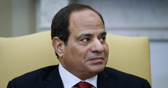 Food cart shut down? Turn to Egypt's president on live TV