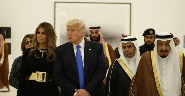 In Saudi Arabia, Melania Trump opts to keep her head bare