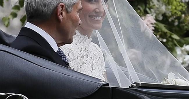 AP PHOTOS:  A look at Pippa Middleton's high-society wedding