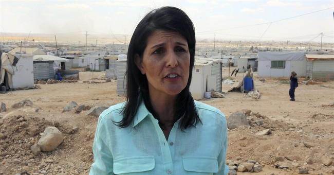 US ambassador assures Syrian refugees more help is coming