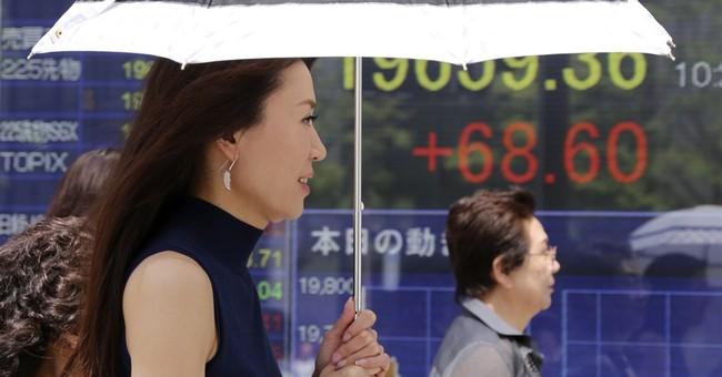 Asian stocks track Wall St's rally despite global worries