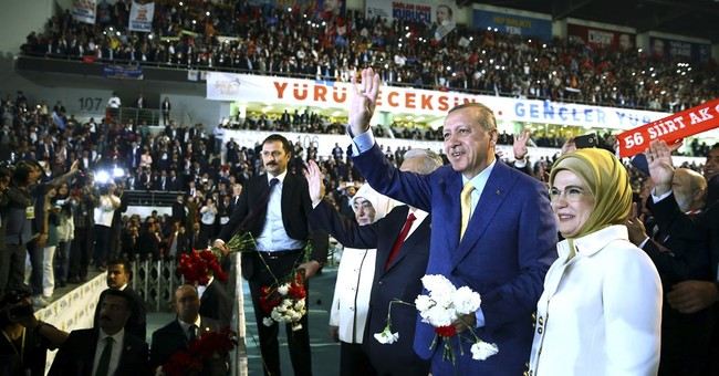 Turkey's ruling party elects President Erdogan as leader