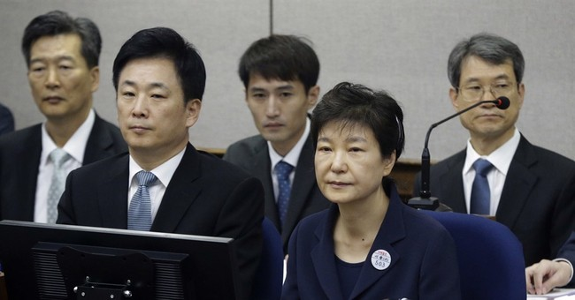 The Latest: Park denies corruption charges during trial