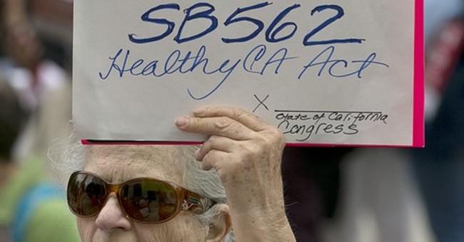 $400 billion price tag for California single-payer bill