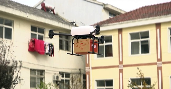 Chinese online retailer developing one-ton delivery drones