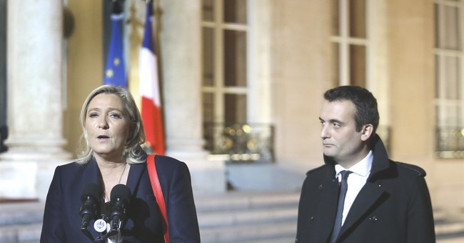 France's Le Pen would accept exit of rival on euro issue