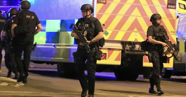The Latest:  Police say 19 killed in blast at Grande concert