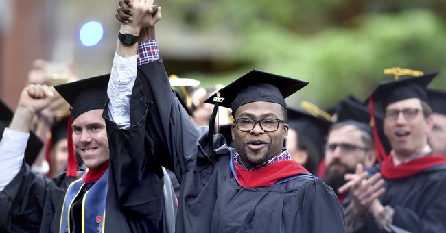 Eventful Yale commencement includes protest, interruption
