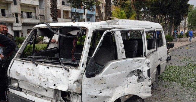 Explosions strike Syria's  Damascus and Homs, 4 killed