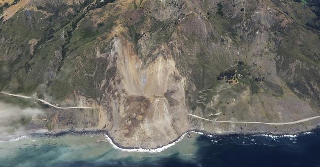 Landslide on California highway part of $1 billion in damage