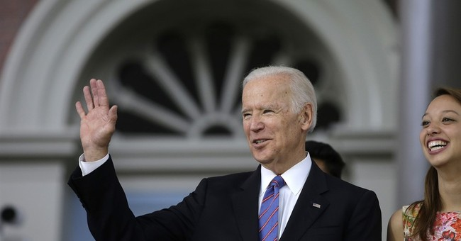 Biden tells grads to take up 'dirty business of politics'