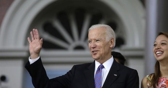 Biden tells grads to take up 'dirty business of politics'