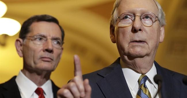 The Latest Senate leaders await analysis of GOP health bill