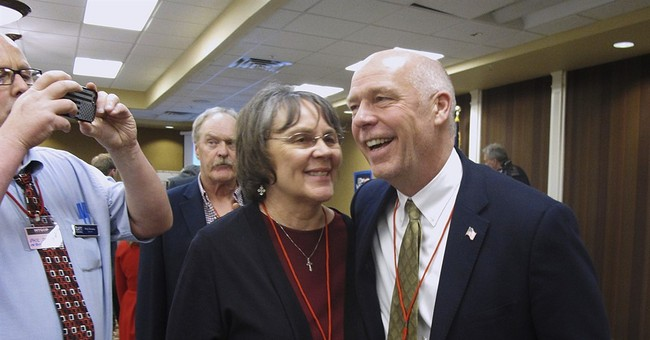 The Latest: GOP lawmakers say little about Montana candidate
